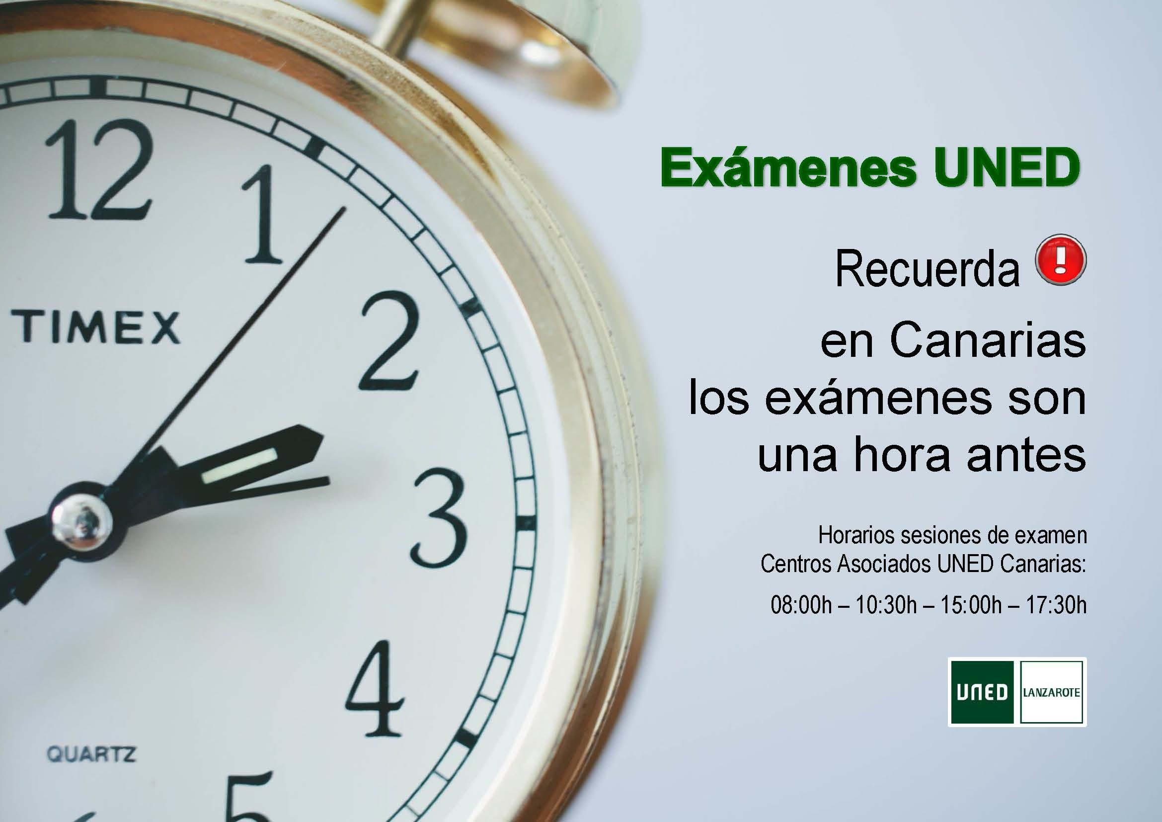 Uned Calendario Examenes.Pruebas Presenciales Examenes